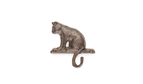 "Cat Hook Coat Hanger | Cat Key Hanger | 4.5""w X 4""h 