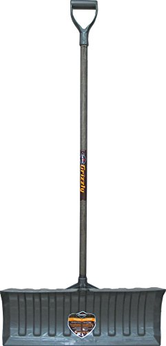 GRIZZLY HEAVY DUTY POLY SNOW PUSHER - 26 INCH