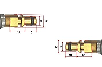Tubo flessibile ad alta pressione per tutte le idropulitrici ad alta pressione K/ärcher da K2 a K7 per la casa e il giardino dal 2008 con sistema di connessione rapida Click