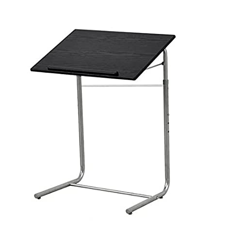Ordinaire GreenForest Simple Portable Table Adjustable Folding Bed Tray Laptop Desk  Reading Notebook Stand Black