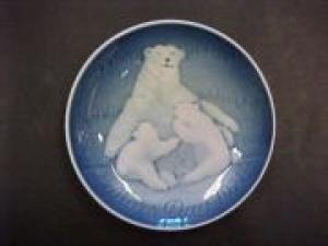 Bing & Grondahl 1974 Mother's Day Plate -