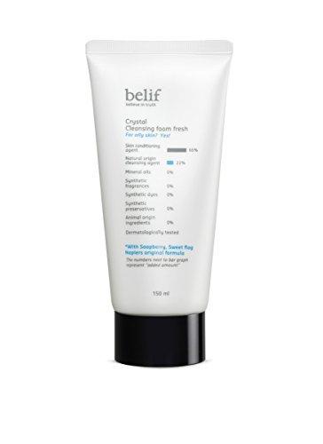Belif-Crystal-Cleansing-Foam-Fresh-150ml-Korea-Imported