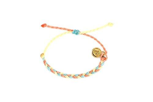 Yellow Gold Braided Bracelet - 5