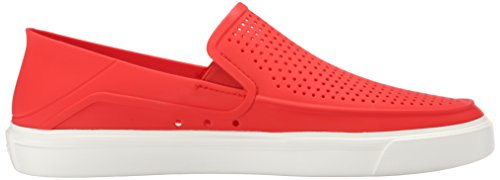 Crocs Herren Citilane Roka Slip-On M Wohnung, EUR: 44.5, Flame/White