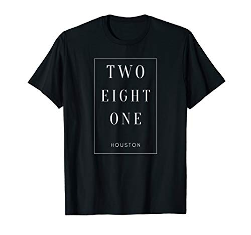 Houston Texas 281 Area Code T-Shirt
