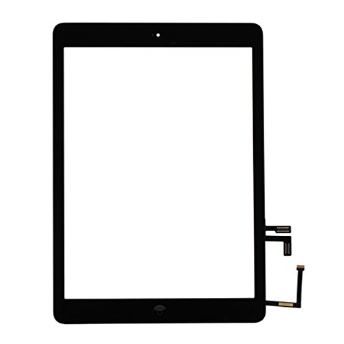 Front Panel Glass Screen with Home Button for iPad air,Digitizer Replacement Kits Include Pre-Install Adhesive and 7 pcs Tools by Tongyin by ? Tongyin (Image #8)