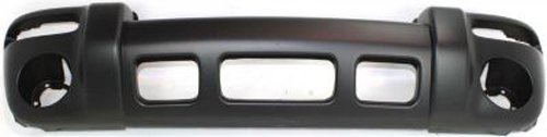 Crash Parts Plus Primed Front Bumper Cover Replacement for 2002-2004 Jeep Liberty -