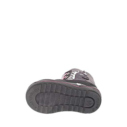 Baskets grigio Ricosta Grau 476 Fille Hautes Alina patina 5qTw7z8