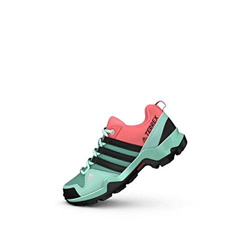adidas Terrex Ax2r K, Zapatos de Senderismo Unisex Niños, Verde (Versen/Negbas/Rostac), 38 EU