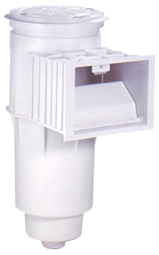 Pentair 84420600 Concrete Flap Weir with Equalizer Admiral S20 Pool and Spa Skimmer, 2-Inch Threaded FIPT