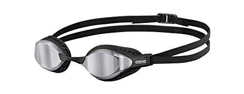 ARENA Gafas Airspeed Mirror Natación, Unisex Adulto, Silver/Black, Talla Única