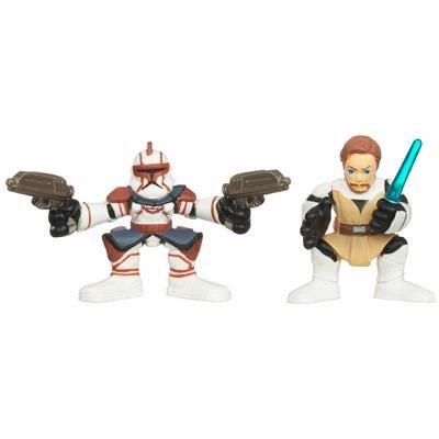 Star Wars Galactic Heroes 2010 2 Pack - Obi-wan Kenobi & Commander Fil