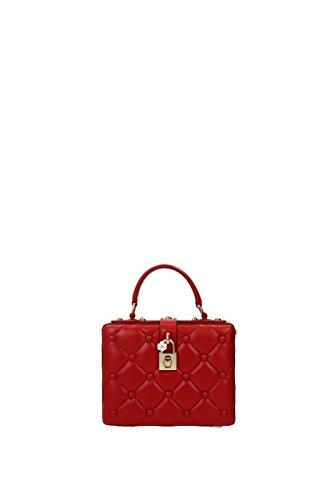 Dolce&Gabbana Borse a Mano Donna - Pelle (BB5970AI795) Rosso