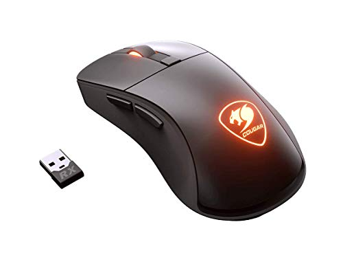 Lcd Mouse - Cougar Surpassion RX Wireless Optical Gaming Mouse with PixArt PMW3330 Professional Gaming Sensor