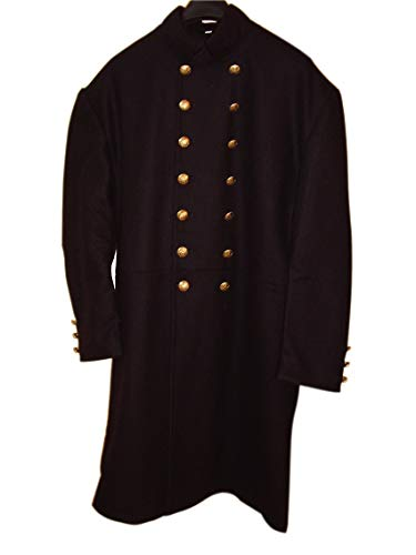 - 10Code US Civil War Union Senior Officer Frock Coat (46) Blue