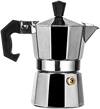 GYHH Cafetera Italiana De Moca De Aluminio, Taza De Café Octogonal ...