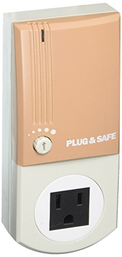 Plug & Safe PS8 Home Security System, Taupe by Plug & Safe
