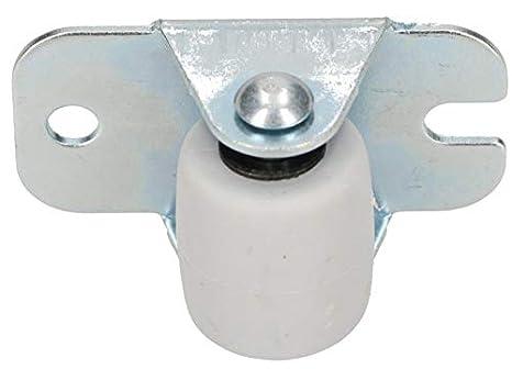 33 mm Gummi Univer KOTARBAU Transportrollen 22 mm Stahlrahmen M/öbelrollen Alle B/öden Lenkrollen Kisten Fix Schieberollen Werkzeugrollen Bockrollen 4, 22 mm