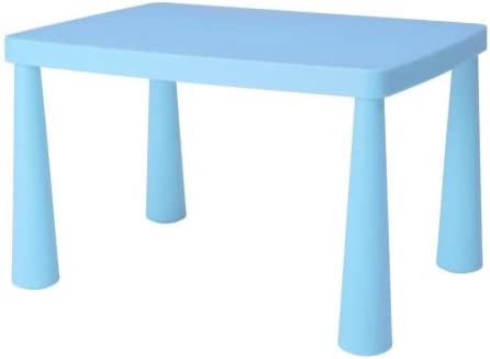 Ikea Mammut - Mesa de Infancia-s, Azul Claro: Amazon.es: Hogar
