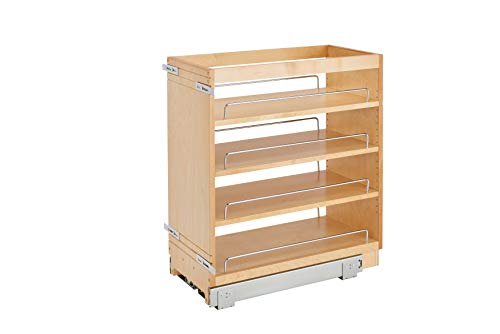 (Rev-A-Shelf - 448-BC-11C - 11 in. Pull-Out Wood Base Cabinet Organizer)