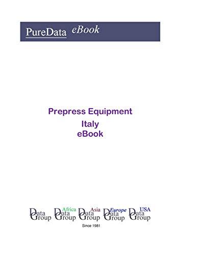 Prepress Equipment in Italy: Market Sales