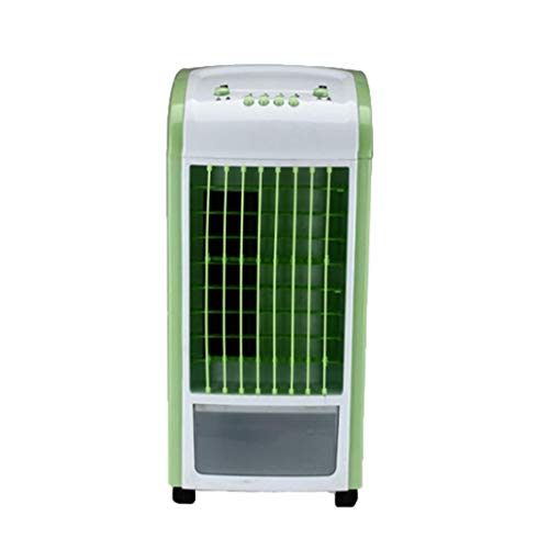 Creazy Air Cooler, 4 in 1 Air Conditioner Humidifier & Purifier Freshener Portable Mini Water Cooling Fan 3.5L Green With Remote Control (Green) by Creazy