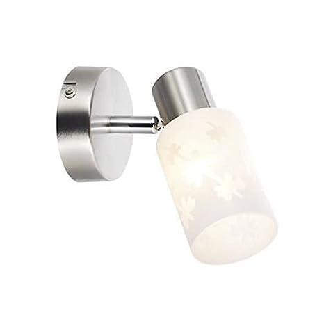 Brilliant AG 03210/13-Foco-Perchero de metal y cristal ...