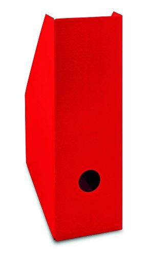 Landre 100420031 Color - Portariviste doppio in cartone, formato A4, dorso extra largo, 105 x 260 x 310 mm, 40 pezzi, colore: Nero Hamelin Brands