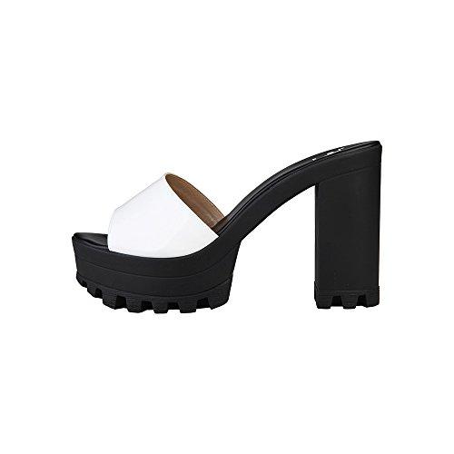V 1969 - GISELLE_PESCA Sandalia De Plataforma Para Mujer Tacón: 5 cm, Meseta 4 cm