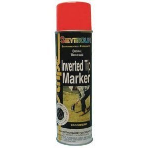 rust-oleum-203032-m1800-water-based-precision-line-inverted-marking-paint-aerosol-fluor-green-lot-of