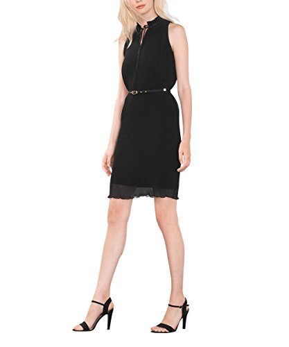Damen Collection 001 Schwarz Black Kleid ESPRIT TSPnwzRHqR