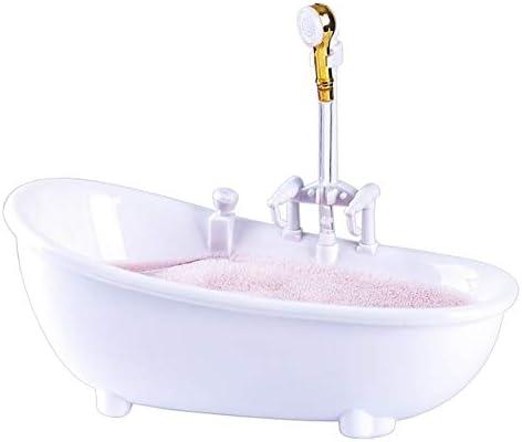 クリエイティブ楽しいバスタブカクテルグラス電気巡回水マグミルクセーキコールドドリンクバーナイトクラブTIKIはワイングラスをフリップスプレー (Color : Blanco)