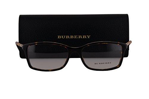 Burberry BE2120 Eyeglasses 53-16-135 Dark Havana w/Demo Clear Lens 3002 BE - Burberry Cheap Sale