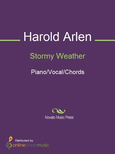 Stormy Weather Kindle Edition By Harold Arlen Lena Horne Arts