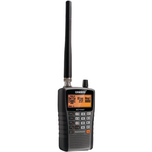UNIDEN BC125AT Bearcat Handheld Scanner