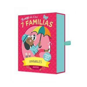 AUZOU BARAJA DE Cartas. Las 7 FAMILIAS, Animales ...