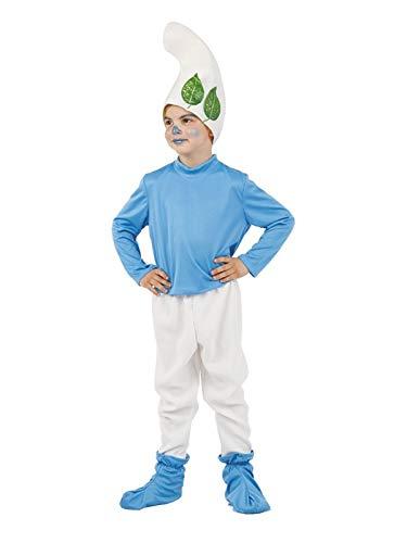 DISBACANAL Disfraz de Gnomo Azul para niño - Único, 4 años: Amazon ...