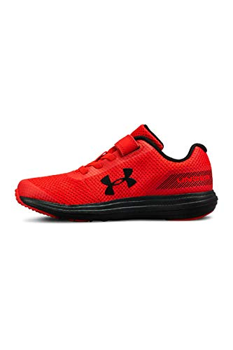 Under Armour Boys' Pre School Surge RN Alternate Closure Sneaker, Red (600)/Black, 3 by Under Armour (Image #6)
