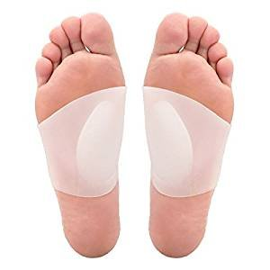 port,Soft Gel Sleeves for Flat Foot & Plantar Fasciitis Support & Pain Relief—Arch Support Pads for Women and Men. (Small:Arch 4.5Wx7.5L) ()