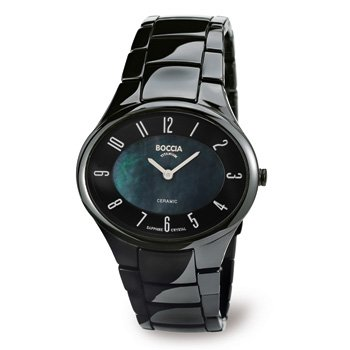 3216-02 Boccia Titanium Ladies Ceramic Watch