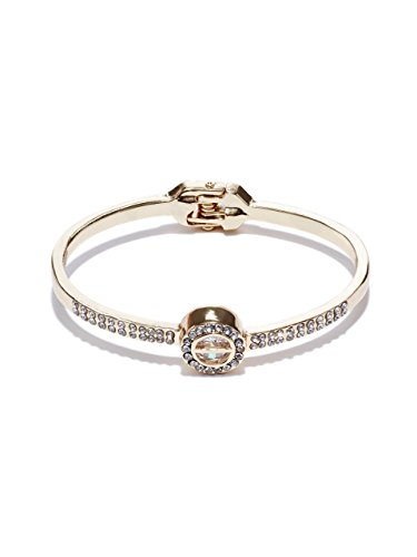 - GUESS Women's Caged Crystal Bangle