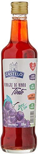 Vinagre Vinho Tinto sem Conservantes Vidro 500ml