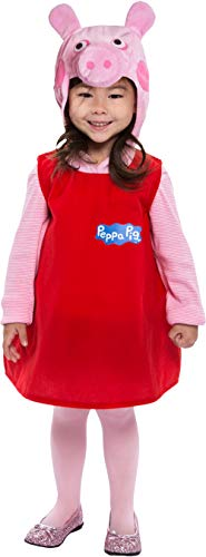 Peppa Pig Dress Toddler Costume 2T -