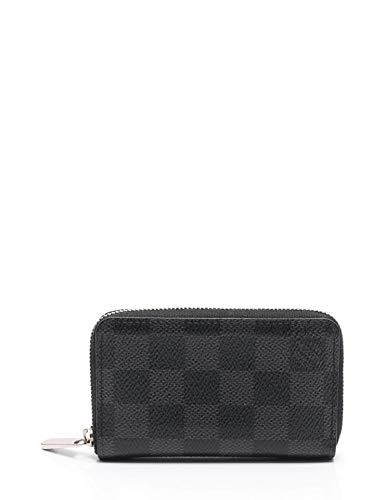 LOUIS VUITTON ルイヴィトン コインケース ジッピーコインパース ダミエ グラフィット M63076【中古】 B079PZY5VH