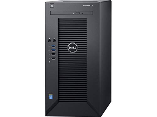 2019 Dell PowerEdge T30 Mini Tower Server System Business Desktop Computer, Intel Quad-Core Xeon E3-1225 v5 Processor, 32GB DDR4 RAM, 1TB 7200RPM HDD, DVDRW, No Operating System (Best Small Business Servers 2019)