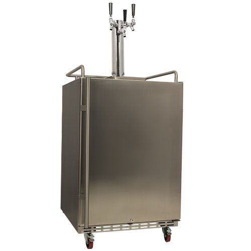 EdgeStar Full Triple Built Kegerator