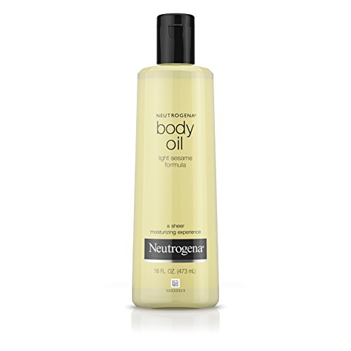 Neutrogena Body Oil, Light Sesame Formula, Sesame Oil, 16 Fl. Oz.