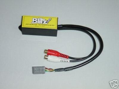 Blitzsafe CHY/AUX DMX V.1AL Chrysler RCA Aux Input Adapter ()