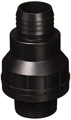 SUPERIOR PUMP 99507/SC125B American Granby Sc125B Check Valve, 1-1/4 Or 1-1/2 in, Mpt X Barb Or Slip, Thermoplastic from SUPERIOR PUMP