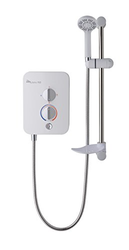MX Group 9.5kw Intro 950 Electric Shower - White and Chrome